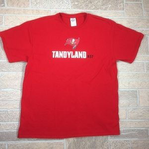 Tampa Bay Buccaneers NFL Keith Tandy Cotton Shirt